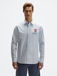 Koszula męska NORTH SAILS STRIPED COTTON SHIRT  4532 C001