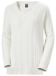 Sweter damski HELLY HANSEN FJORD CABLE KNIT 33967 012