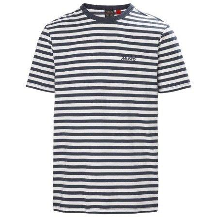 T-shirt męski MUSTO LOIRE STRIPE 81172 598